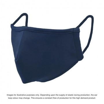 Kids NAVY Nano-Tech Face Mask - Fits Ages 3 - 13. If ordering more than 2 USE DISCOUNT CODE 'BELLE5'