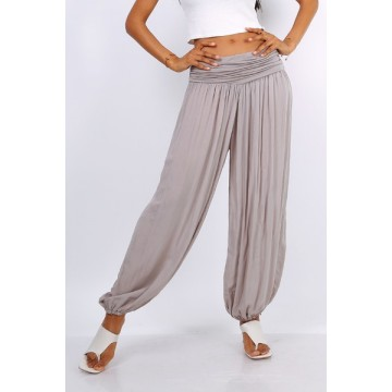 Hareem Pants - Taupe -One Size