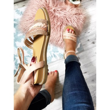 Lori Multistrap - Rose Gold SIZE 3 LEFT ONLY