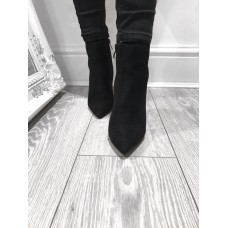 Jewell in the Crown - Black Stiletto Boot