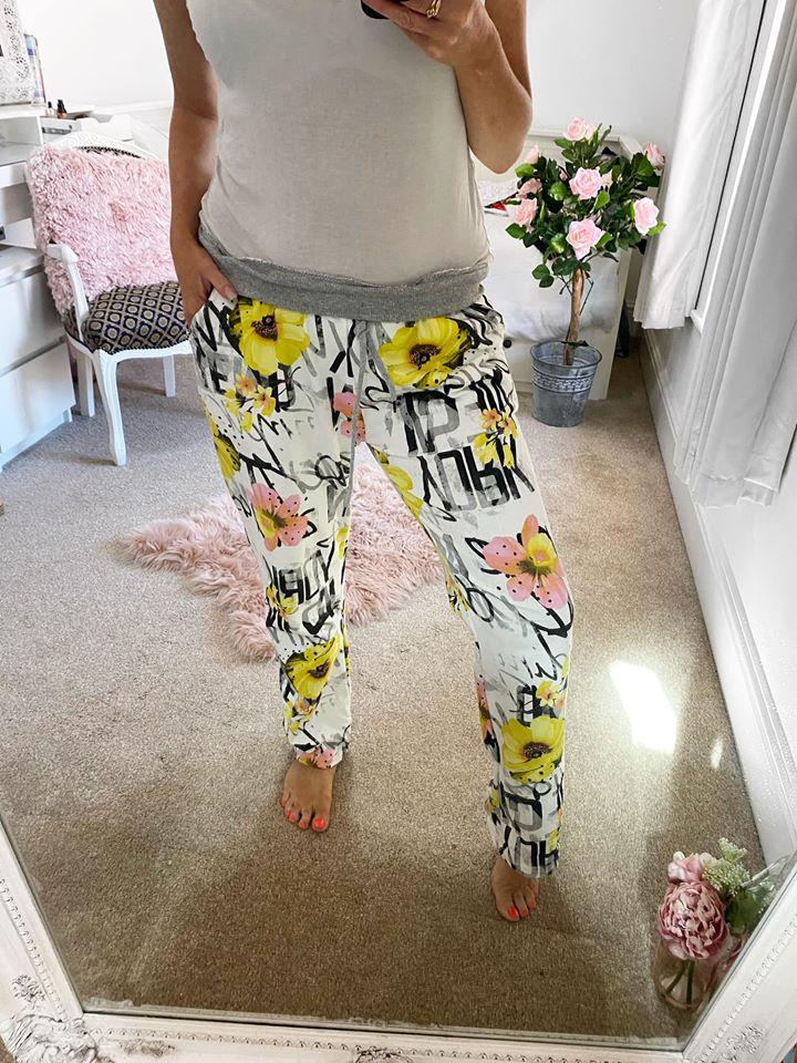 Magic Lounge Pants - Sunflower