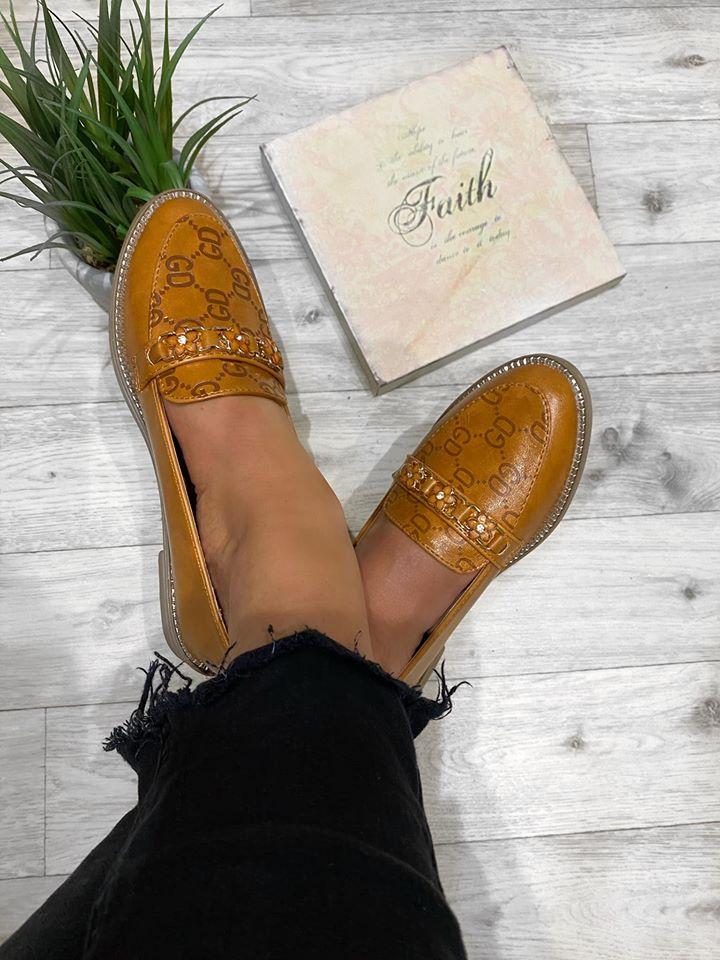 Gigi Soft comfort loafers - Camel