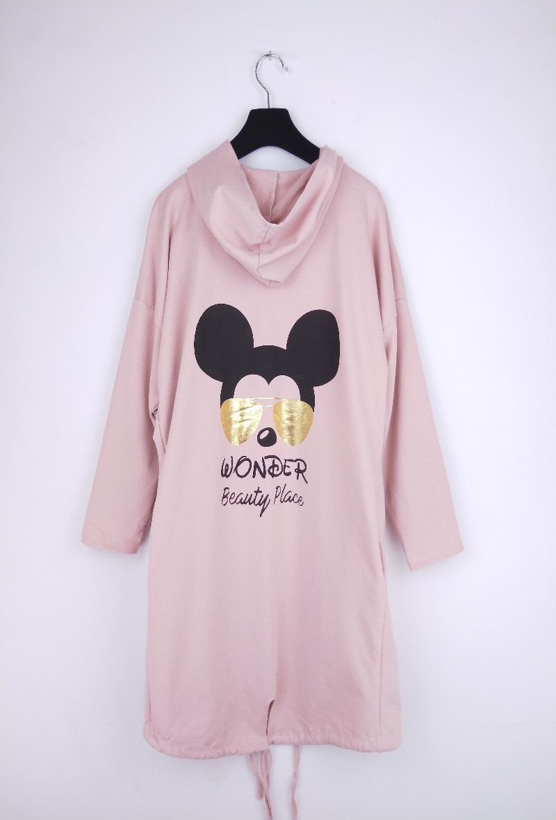 Wonder Beauty Place Hoodie - Pink