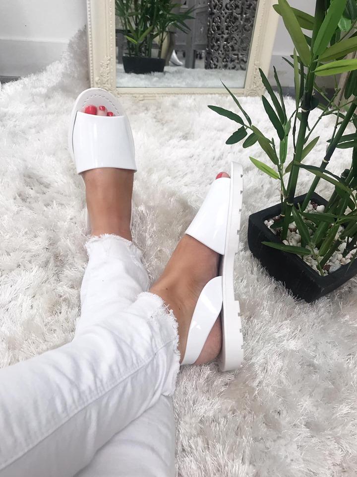 Rio - White PU Sandal