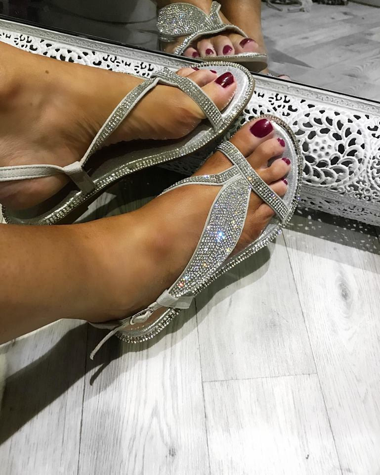 Cleo Sandals - Silver