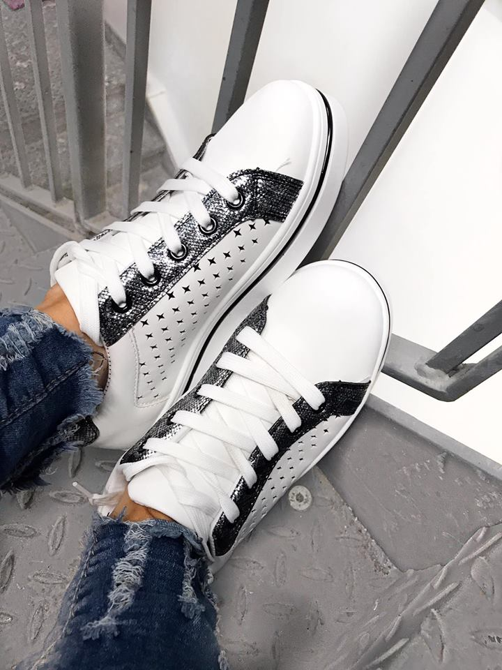 Star Trainers - Black/White SPECIAL OFFER